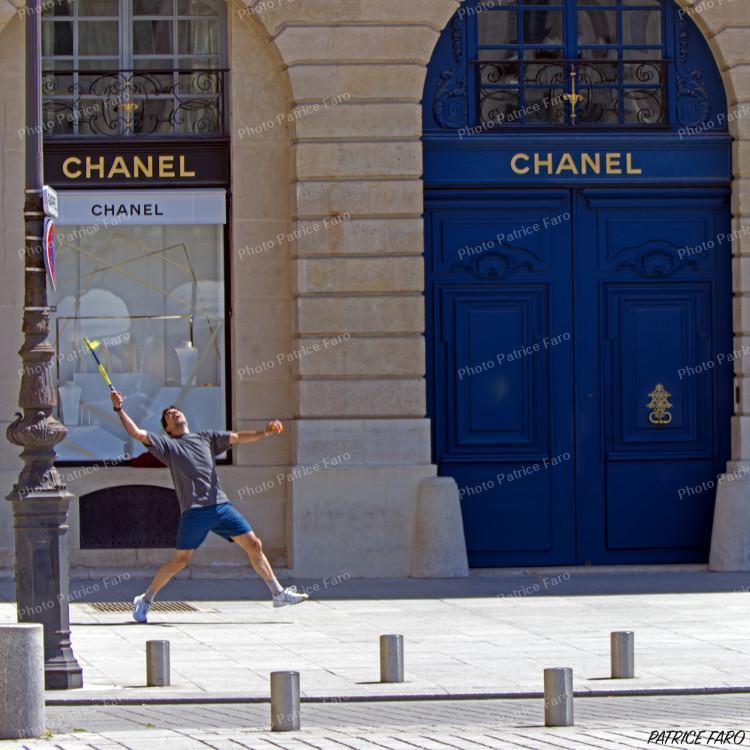 déconfinement à la française sport dans Paris - Photo Patrice Faro