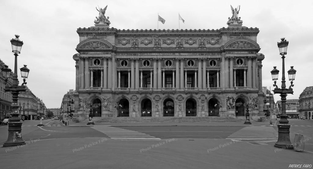 Opéra de Paris en période de confinement
