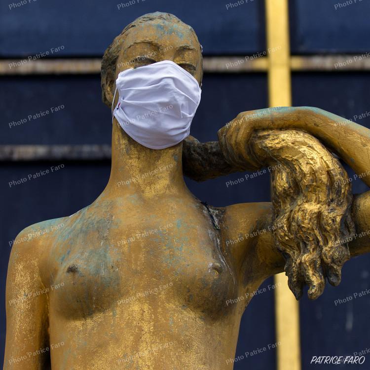 Trocadéro Paris en période de confinement